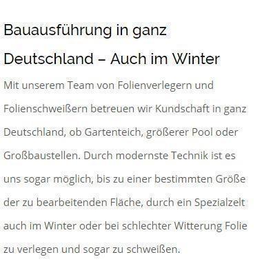 Folienbau aus  Mainz - Altstadt, Lerchenberg, Lothary Aue, Münchfeld, Neustadt, Oberstadt oder Marienborn, Mitte, Mombach