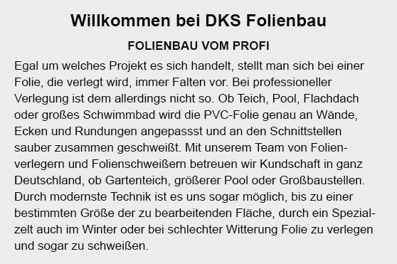 Folienbau in 44135 Dortmund, Herdecke, Wetter (Ruhr), Kamen, Schwerte (Hansestadt an der Ruhr), Castrop-Rauxel, Holzwickede und Witten, Lünen, Waltrop